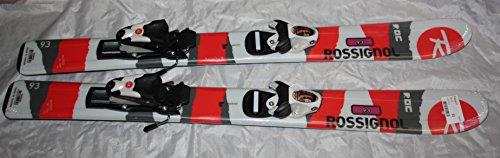Rossignol ROC Jr Kids Skis 93cm comp Kid Adjustable bindings New