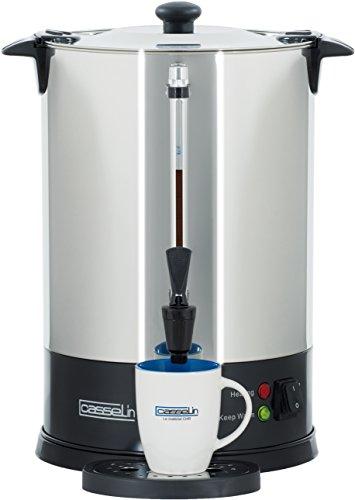 CASSELIN CPC100S automatyczny ekspres do kawy, stal nierdzewna, 15 litrów