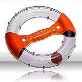 Powerspin EVO - Entrenamiento de Brazos, Tríceps y Hombros, Ejercicios Abdominales para el Hogar: Construye Rápidamente Músculo Mediante el Ejercicio Isométrico (Naranja)