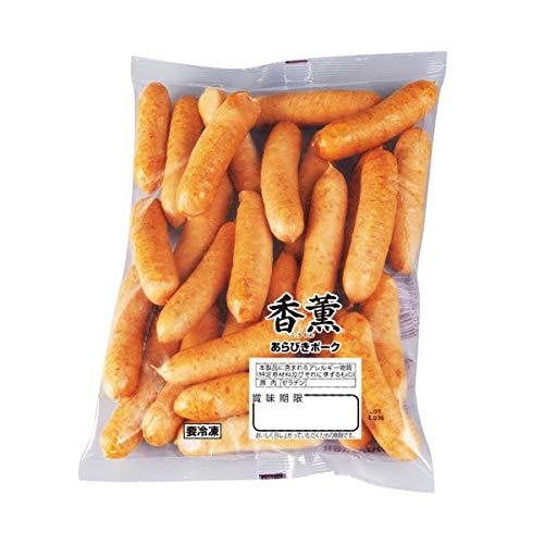 【冷凍】プリマハム 香燻あらびきポークウインナー 500g ウィンナー ソーセージ 業務用 朝食