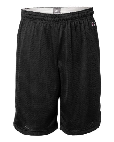 Champion Men`s Polyester Mesh Short Black