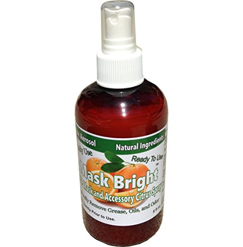 Mask Bright 8 Ounce CPAP Mask and Accessory Cleaner Pump Spray