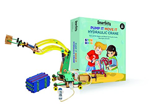 Smartivity Pump It Move It Hydraulic Crane - S.T.E.M. Now $24.53 (Was $39.88)