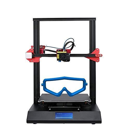 TiandaoMXL CR-10S Impresora 3D Pro Upgrade nivelación automática táctil LCD v2.4.1 Placa Base Doble extrusión Reanudar impresión Detección del filamento (Color : Add 2KG PLA, Size : Gratis)