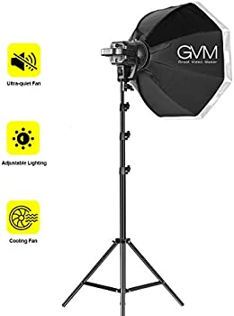 GVM Great Video Maker 80W Continuous Output Lighting Kit w/ Tripod Stand