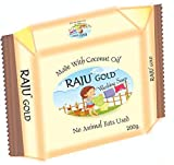 RAJU™ Gold Oil Based Washing Soap for clothes 200gm. (15)