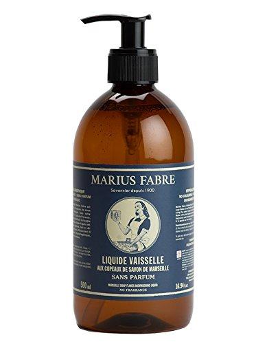 Marius Fabre Serie 'Nature' - Geschirrspülmittel ohne Duft 500 ml