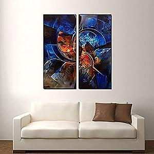 Smile Gallery Modern Wood Tableau- 80 x 60 cm - 2724627058166
