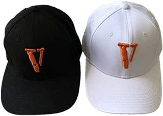 Vlone Life Big V Letter Embroidery Vlone hat Hip hop Men Women Couple Cap Baseball Cap