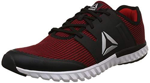 Reebok Men Twist Run 1 Shoes-9 UK/India (43 EU) (CN1954-9-RED/GRAVEL/METSIL/WHT/BLK)