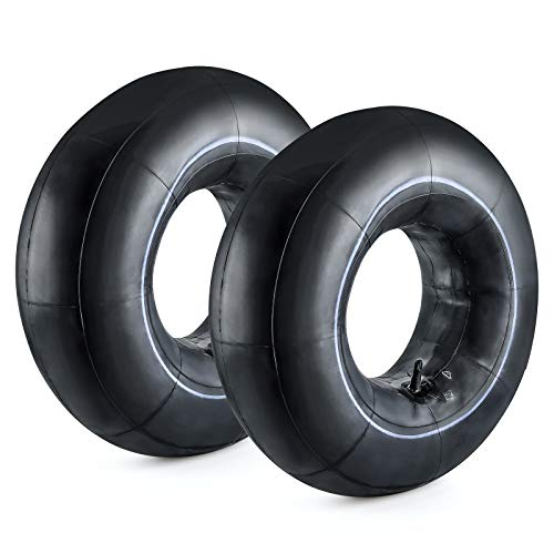 Cenipar 20x8.00-8'' Inner Tubes,Tire Replacement Inner Tubes for Heavy Duty Cart,Such as Trunk, Tractor, Garden Carts,Golf Cart, Mowers, with TR13 Straight Valve Stem,Pack of 2