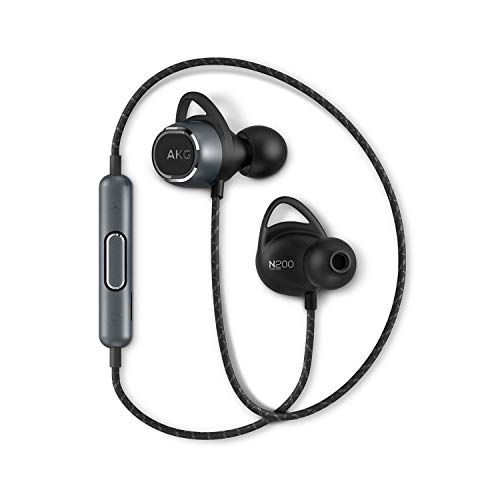 AKG N200 WIRELESS Bluetoothイヤホン カナル型/AAC/apt-X対応/3ボタンリモコン/通話マイク付き