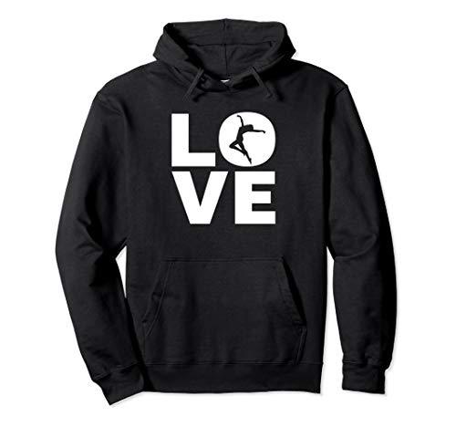 Love Tanzen - Ich Liebe Tanzen - Tänzer & Dancer Geschenk Pullover Hoodie