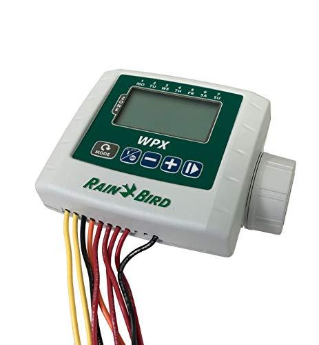 Rain Bird WPX004 WPX 4. Programador de riego estanco para Nido de electroválvulas, Gris