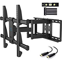 Universal Design: TV wall mount fits most of 37-70 Inch TVs with VESA 200X100mm to 600X400mm. Compatible with most model such as like Samsung, LG, TCL, Vizio, Sony, Panasonic, Thomson, Toshiba, Sharp, Philips, JVC and more. If you need larger wall mo...