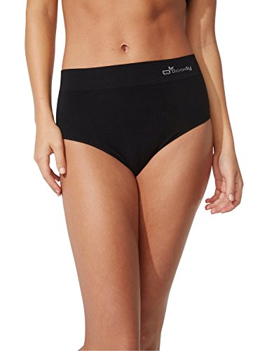 Boody Body EcoWear Women's Full Brief - Bamboo Viscose - Comfy Full Coverage Underwear