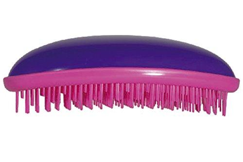DETANGLER Cepillo desenredante para el pelo (Morado-Fucsia)