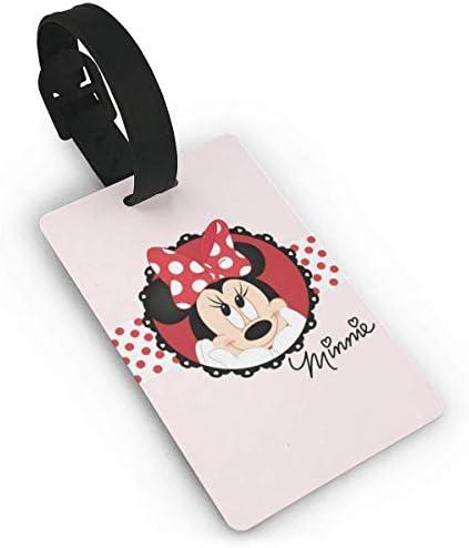 Mickey Minnie Smile Bagagelabels Koffer CarryOnid Travel Id Bagagelabel