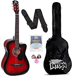 Intern INT-38C Acoustic Guitar Kit - Best Acoustic Guitar Brands In India