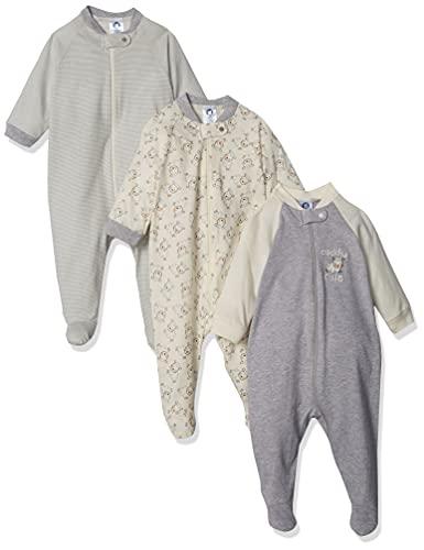 Gerber Baby 3-Pack Organic Sleep 'N Play, cuddly sheep, 6-9 Months