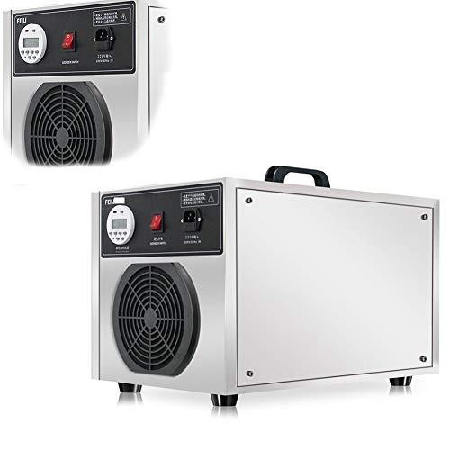 KEKE Ozongenerator Geurkiller met timer ozon luchtreiniger 5000 g/H ozonapparaat ozonisator voor kamer, rook, auto's en huisdieren