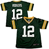 Nike Aaron Rodgers Green Bay Packers Pre-School/Kids Game Jersey Green (Small)