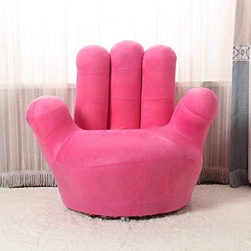 WOAINI Kinder-Sofa-Stuhl, Baseball-Handschuh-geformte Finger-Art-Kleinkind-Sessel-Wohnzimmer-Sitz, Kindermöbel Fernsehstuhl / (35.4x13.8x33.5inches / 27.6x11.8x25.6inches