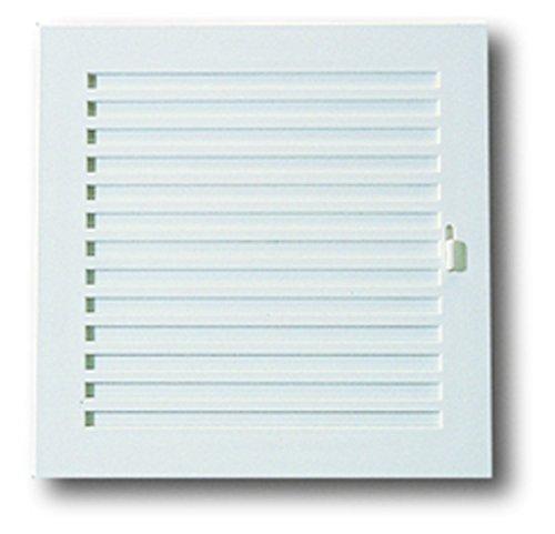 Anzapack 814331S - Rejilla Con Cierre 20X20 Cm. Plastico Blanco