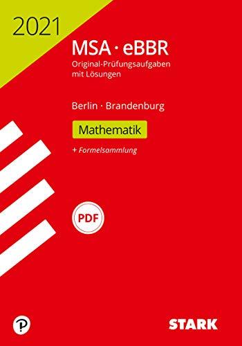 STARK Original-Prüfungen MSA/eBBR 2021 - Mathematik - Berlin/Brandenburg