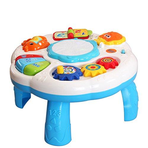 TOYMYTOY Bébé enfants Table musicale prématernelle au début les centres...