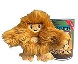 Canned Critters Stuffed Animal: New Sasquatch 6'