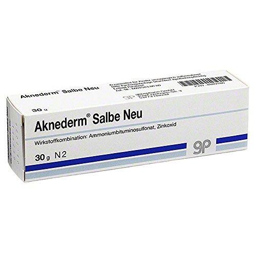 Aknederm Salbe Neu 30 g by AKNEDERM