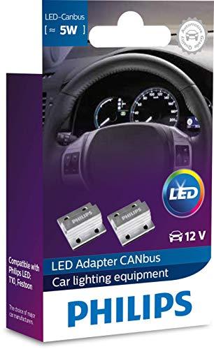 Philips automotive lighting 12956X2 CANbus LED control unit 12V 5W, 2 Stück, Set of 2