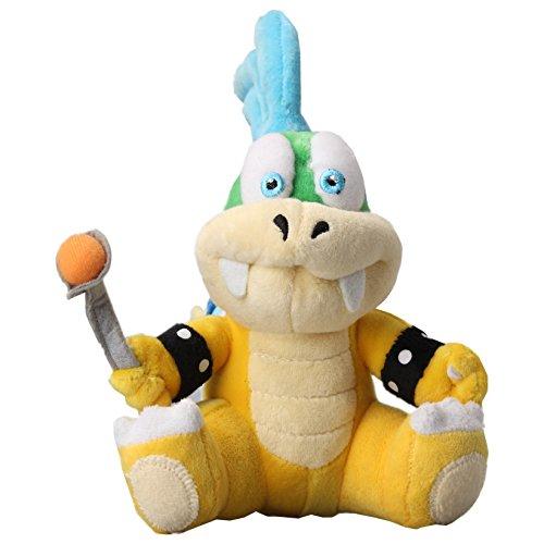 uiuoutoy Larry Koopa Plush 8'' Super Mario Bros Series Doll Toy