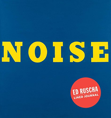 Noise an Ed Ruscha ruled journal