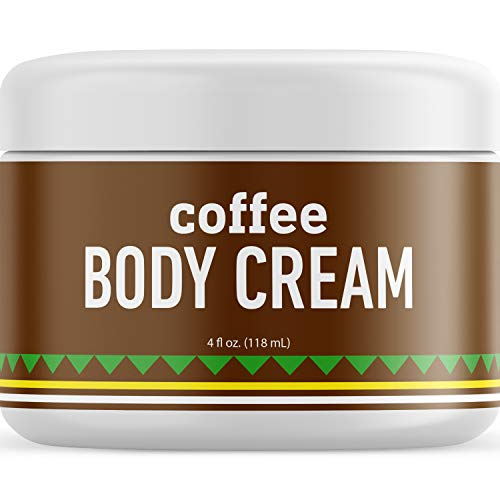 Moisturizing Coffee Body Lotion For Cellulite - Concealing Cellulite Cream Shea Butter Lotion with Coconut Oil for Skin and Moisturizer for Dry Skin - Caffeine Eye Cream for Anti-Aging Skin Care