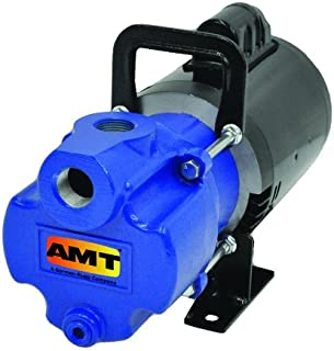 AMT Pump 2851-96 Self-Priming Utility Pump, Aluminum, 1/3 HP, 1 Phase, 115/230V, Curve B, 1