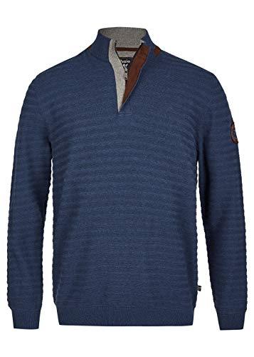 hajo Polo & Sportswear Herren Ringel-Pullover strukturiert