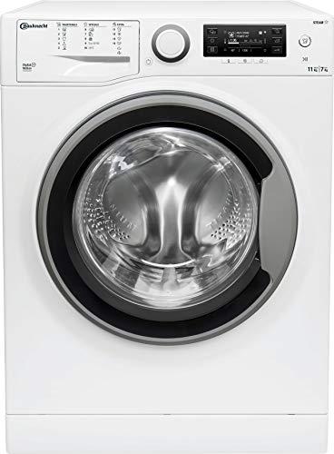 Bauknecht WATK Sense 117D6 EU N Waschtrockner / 11/7kg Waschen/Trocknen/Flecken 40° / Dampf-Programm/Dynamic Inverter-Motor/Wolle-Programm/Nachlegefunktion/Kurzprogramm 45 Min