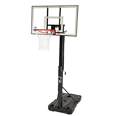 68395W Spalding Huffy 54in Polycarbonate Portable Basketball System