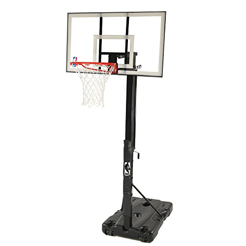 Spalding 68395W NBA Portable Basketball Hoop with 54 Inch...