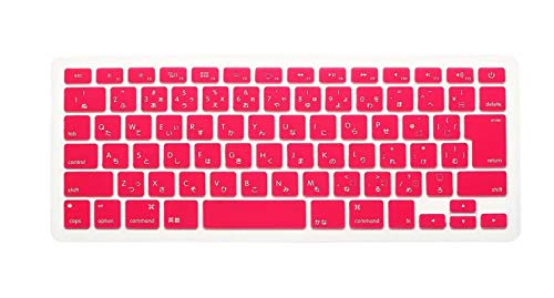 Japanese English Japan JP Keyboard Cover For Macbook Air Pro Retina 13 15 17 Protector for Mac book keyboard-Pink