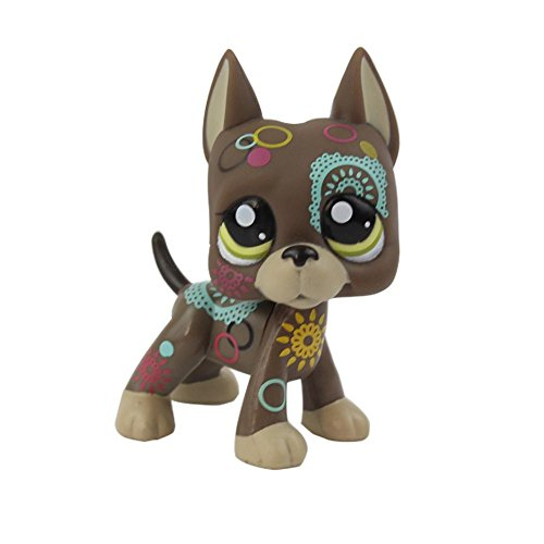 Pet Shop Toys LPS, 1 figurine rare de chat à poil court (au choix), tient debout, cadeau pour enfant, à l'unité