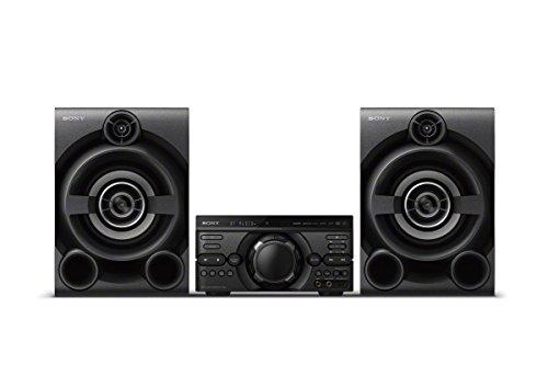 Sony Mhc de m60d - Sistema de música High Power de 3componentes, Color Negro
