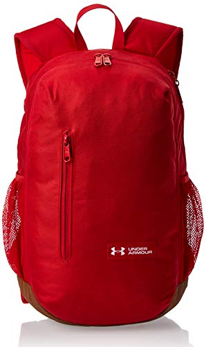 Under Armour Roland Backpack Sac à Dos Mixte Adulte, Rouge, FR Unique (Taille Fabricant : OSFA)