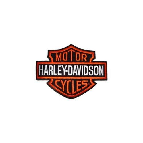 Patch Toppa Harley Davidson Logo B&S Media 13x9,5 x Giacche e Gilet