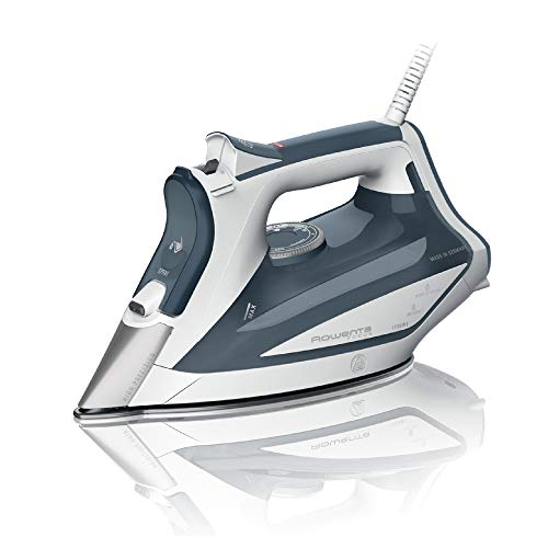 Rowenta Professional DW5280 1725-Watts Steam Iron with Stainless Steel Soleplate, Blue