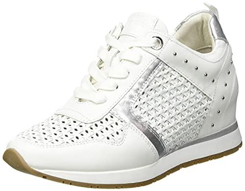 CARMELA 67740, Zapatillas Mujer, Plata, 41 EU