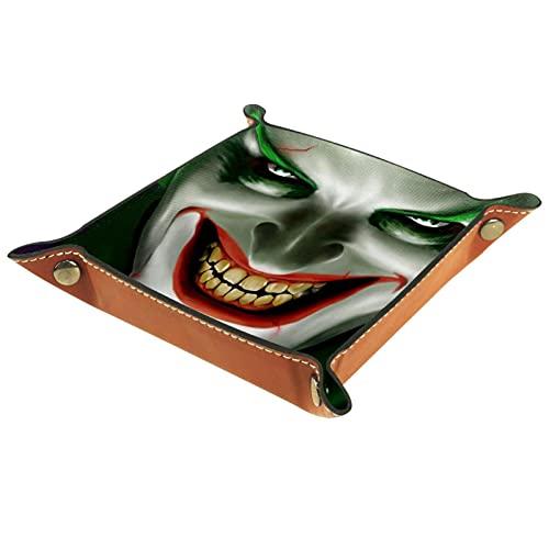 Joker Smiling for Men Key Wallet monedero viaje hombres mujeres joyería bandeja clave