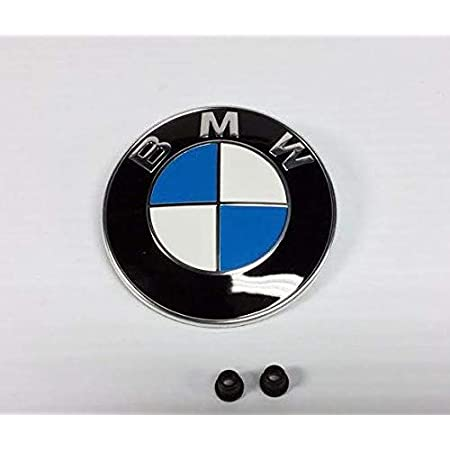Amazon Com Bmw Genuine Hood Roundel Emblem With 2 Grommets For All Model And For Trunk Of E32 E38 7 Series From 86 01 E34 5 Series From 88 95 E36 3 Series From 90 99 Automotive